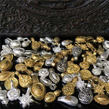 BRO802 тибетские зажимы для прилавка мала, восемь зажимов Будды, смешанный заказ, 10 шт./партия