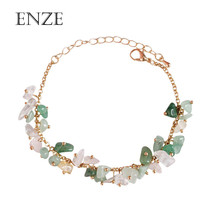 Free shipping popular ladies jewelry Exquisite synthetic stone wear chain bracelet elegant sweet girl accessories Retro fashion