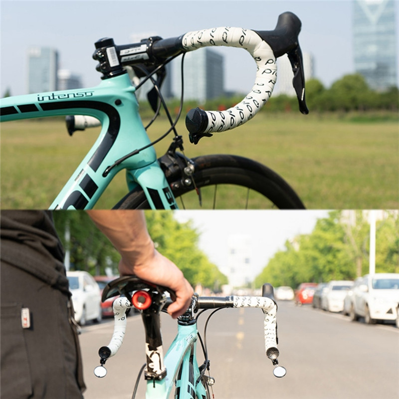 Bicycle Rearview Flexible Stainless Steel Lens Mirror MTB Handlebar Side Safety Rear Cycling Bicycle View Mirror Road GMT601