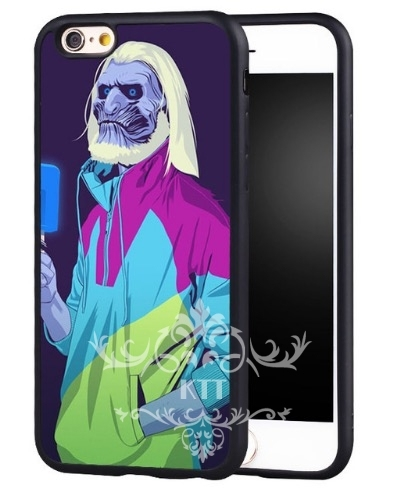 Comic Game of Thrones White Walker iPhone and Samsung Phone Case
