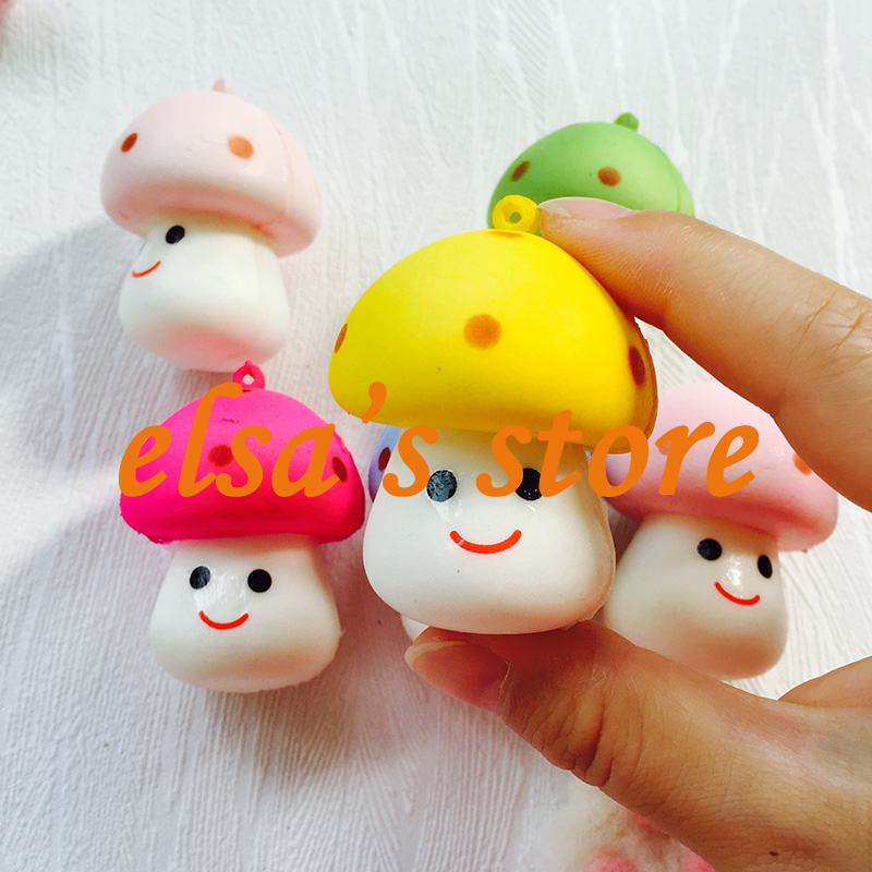 Rare Squishy Manufacturer : Aliexpress.com : Buy squishies wholesale 10pcs KAWAII RARE fruit squishy lot mushroom squishy ...
