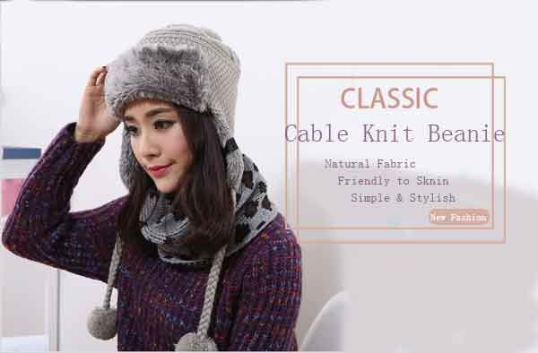 2016 Winter Warm Thick Women Knitted Fur Hat Knitted Fur Cps Lady Winter Warm Charm Beanies Caps Female Headgear  (7)