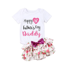 Lovely Newborn Kids Girls Clothes Cotton Tops Romper+Floral Tutu Skirt Outfits Baby Girl Newborn Clothing Infant Clothes Set baby girl white bodysuit dress sleeveless cute white cotton clothes outfits newborn baby kids girls infant clothing tops