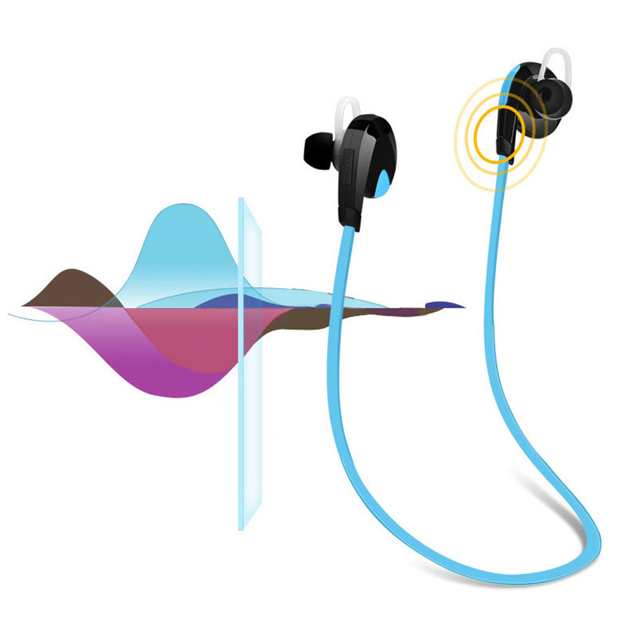 Bluetooth Sport Earphone Wireless Headset Super Bass Noise Cancelling with Mic for Samsung Galaxy note 8 for Xiaomi Huawei magnetic switch bluetooth wireless sport earphone sweatproof stereo noise cancelling headset for huawei honor 6c 6x 6a v9