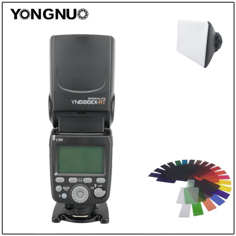 YONGNUO YN686EX-RT ليثيوم Speedlite ETTL اللاسلكية - كاميرا وصور