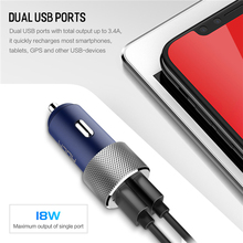 ROCK QC 3.0 Sitor Car Charger for Smartphone