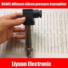 RS485 Máy Phát Áp Lực/tiêu chuẩn MODBUS RTU cảm biến áp suất/thép không gỉ silicon khuếch tán máy phát áp lực