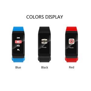 Image 5 - 2018 nowy zegarek sportowy inteligentna bransoletka Monitor ciśnienia krwi wodoodporny Monitor pracy serca Pulse miernik smart watch