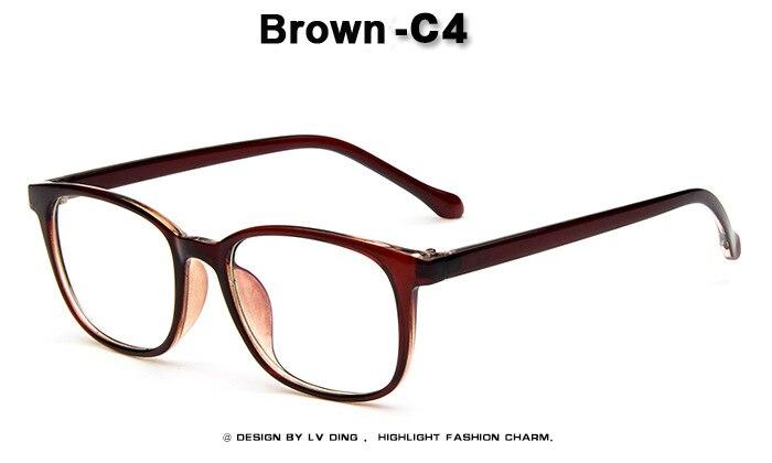 2016 Wanita Antik kacamata batal lens optical Mode Persegi Paku Keling  Kacamata baca frame Oculos de e5f0f3e543