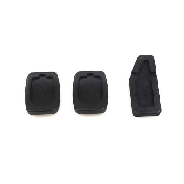 LARBLL 3PCS/lot New Accelerator Clutch Brake Pedal Rubber Pad Pedal Cover  Kit For Suzuki Swift 49451-60B00