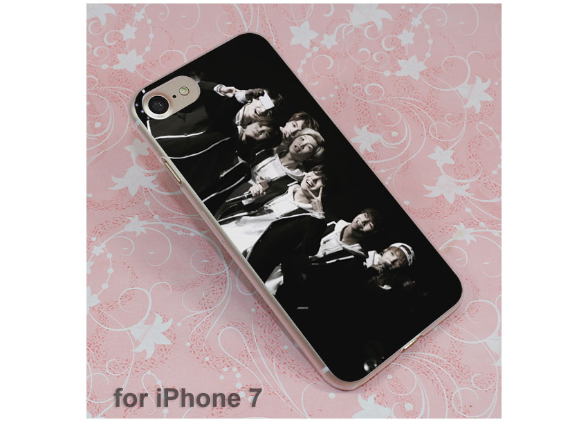 HTB1WlcYPVXXXXbVaXXXq6xXFXXXT - Boys BTS Korean Hip Hop Kpo design hard clear Case Cover for Apple iPhone 7 6 6s Plus SE 4s 5 5s 5c Phone Case PTC 226