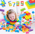 90pcs Large Plastic Pieces of Plastic Blocks Inserted Children's Educational Toys Assembled Assemble Blocks