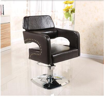 Barber's Chair Salon Hairdressing Chair Factory Outlet Barber Chair Salon Swivel Chair the silver chair