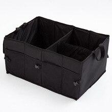 Водонепроницаемый складной багажник автомобиля чемодан автомобилей ящик для хранения многофункциональный багажнике сумка Организатор Авто Салонные аксессуары