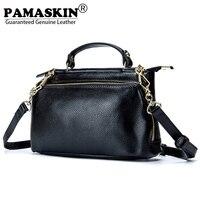 PAMASKIN Luxury Handbags Women Bags Designer Premium Cow Leather 2017 Newest Female Shoulder Bag Business Ladies