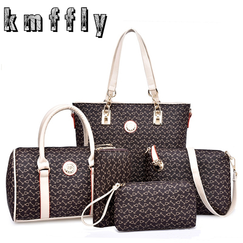 N retro fish bone pattern 6 set set purses and handbags for High couture brands