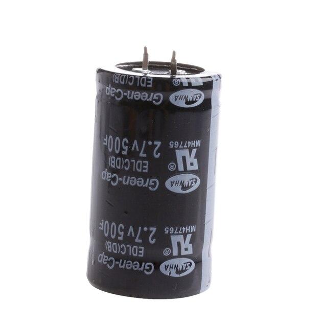 OOTDTY 1Pc 2.7V 500F Farad Capacitor 35*60MM Super Capacitor New