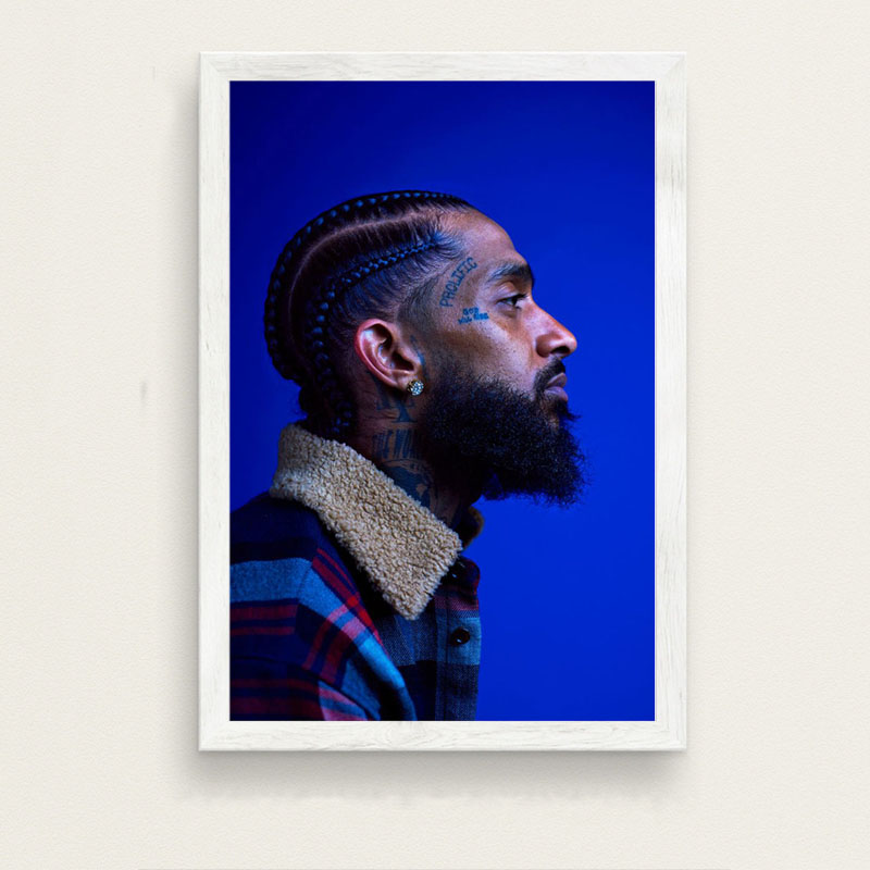 US $2 95 31% OFF|P403 Nipsey Hussle Victory Lap Hip Hop Rap Music Star Art  Painting Silk Canvas Poster Wall Home Decor-in Painting & Calligraphy from