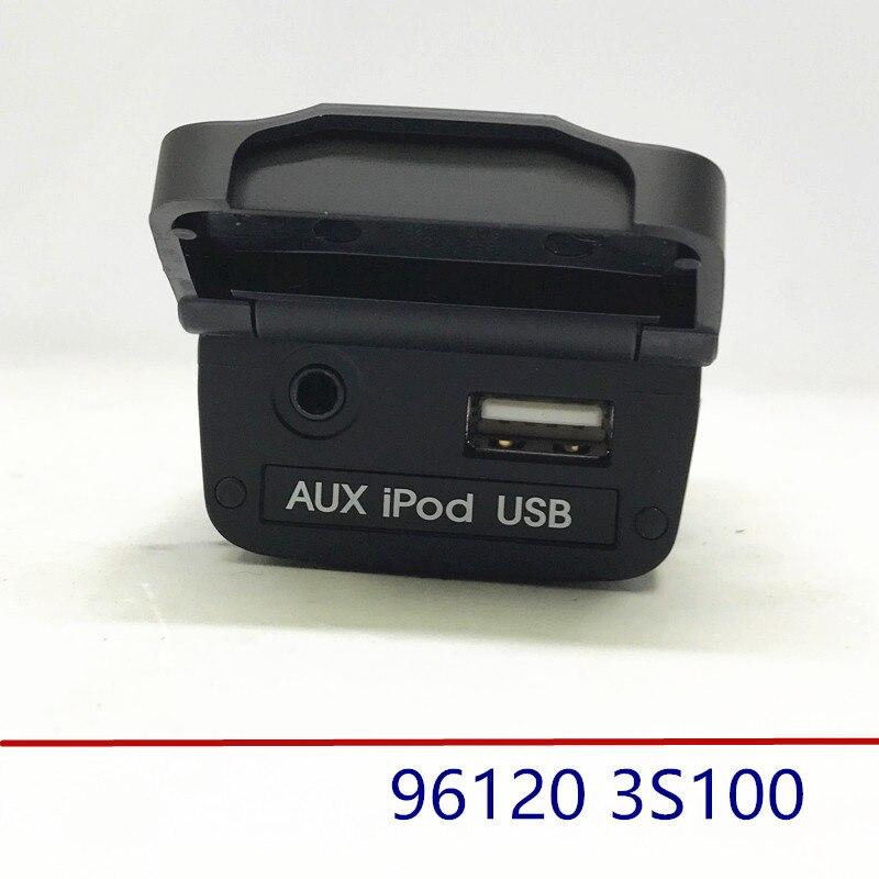 Prise auxiliaire USB AUX Jack assemblage pour hyundai Sonata YF 2011-2014 i45 961203S1000 96120 3S100
