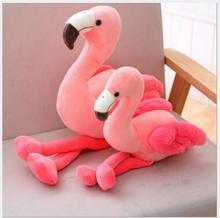 WYZHY Hot stretch super soft flamingo plush toy doll  Nap pillow cushion 30cm