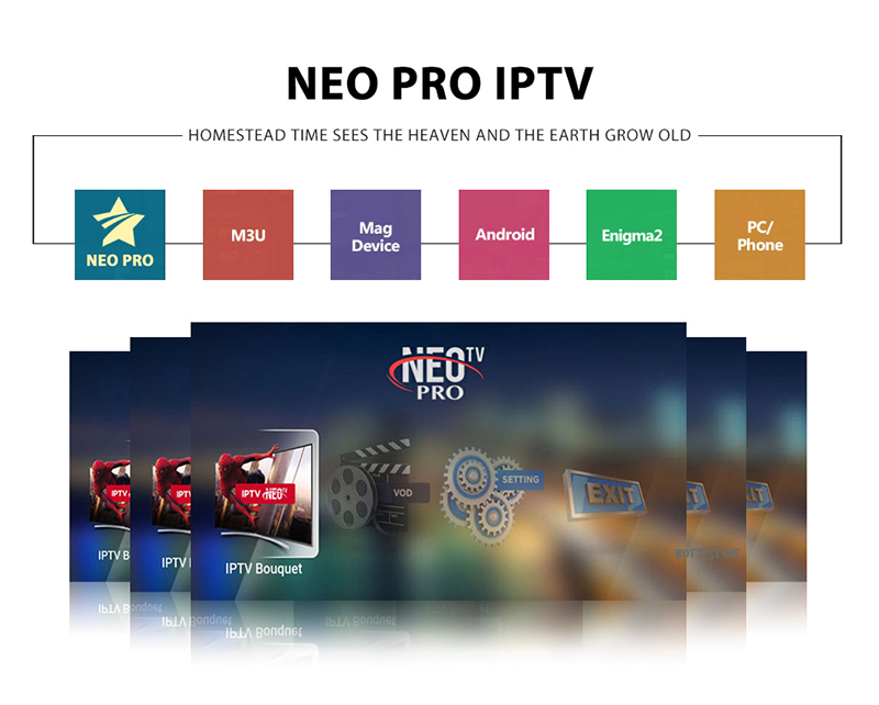 Neo pro tv IPTV subscription morocco Tunisia Algeria French Italian uk iptv  code xstream M3U mag free test for Android TV Box