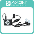 AXON E-8 Rechargeable Digital Hearing Aid Aids Headphone Amplifier Personal Sound Acousticon Listening Care With 8 x Earplug