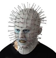 The Hellraiser series mask Halloween high grade latex masks Creative strange Nail head mask