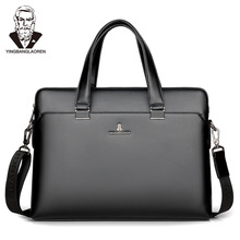 portfolio Luxury Brand laptop tote Bags Business Men Briefca