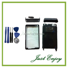 Brand New Full Housing Complete Cover Case For Nokia N8 Housing Black Sliver Color +Tools Free Tracking