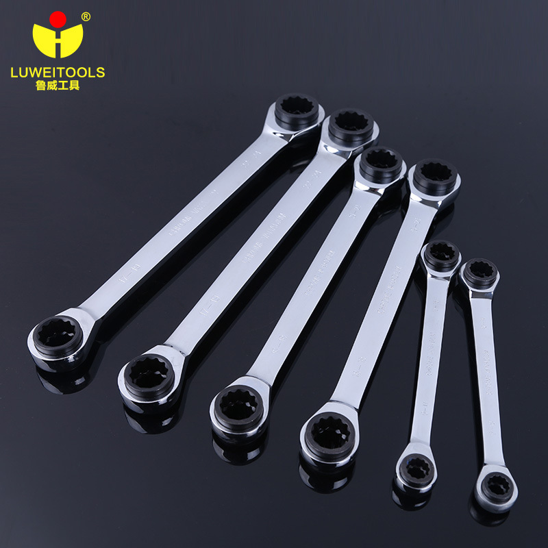 1 Piece Have 4 Size Gear Torque Socket Wrench Set