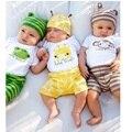 Животных baby boy одежда наборы шапка + боди + шорты 3 шт. костюм детская одежда bebe одежда костюмы комбинезон