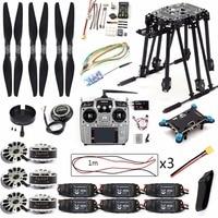 DIY Set PIX PIX4 Flight Control ZD850 Frame Kit M8N GPS Remote Control Radio Telemetry ESC Motor Props for RC 6 Axle Airplane