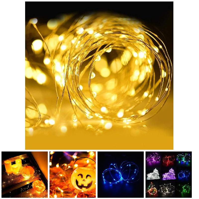 20 LEDs Decoration Lights String Waterproof Flashing Lights Wedding Party Decoration TN88