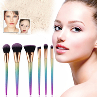 High Quality Docolor Makeup Brushes Kits Gradient Color Fantasy Set Foundation Powder Eyeshadow Makeup Brush Set