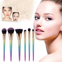 High Quality Docolor Makeup Brushes Kits Gradient Color Fantasy Set Foundation Powder Eyeshadow Makeup Brush Set
