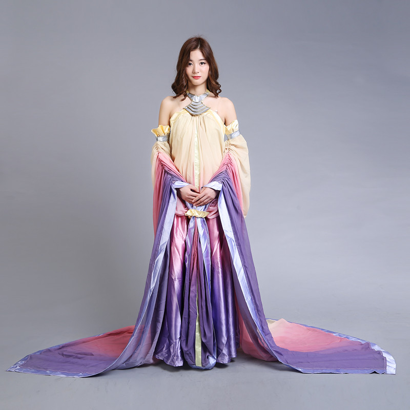 2017 star wars costume Revenge of the Sith Padme Amidala lake dress Star Wars Padme Amidala costume cosplay dress custom made cm50tu 24h new