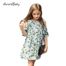 Chiffon Dress Dívky šaty 2016 Jarní a letní dětské oblečení Krásné princeznové dívky šaty Dovolená strana