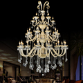 Modern dining room chandliers Lighting Fixture Crystal Chandelier lamparas de cristal Lamp Hanging Lustres suspension luminaire