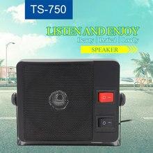 TS 750 de altavoz externo para KT 780plus de radio móvil, 3,5mm, Ham Radio CB Hf, transceptor, altavoz de carga de radio de coche