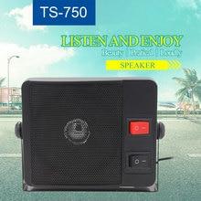 Zewnętrzny głośnik TS 750 do mobilnego radia KT 780plus 3.5mm Ham radio CB Transceiver Hf Radio samochodowe obciążenia głośnik