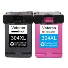 Чернильный картридж Veteran 304XL совместимый для hp 304 hp 304 xl Envy 5010 5020 5030 5032 5034 Deskjet 2632 2630 2620 3720 3721 3723