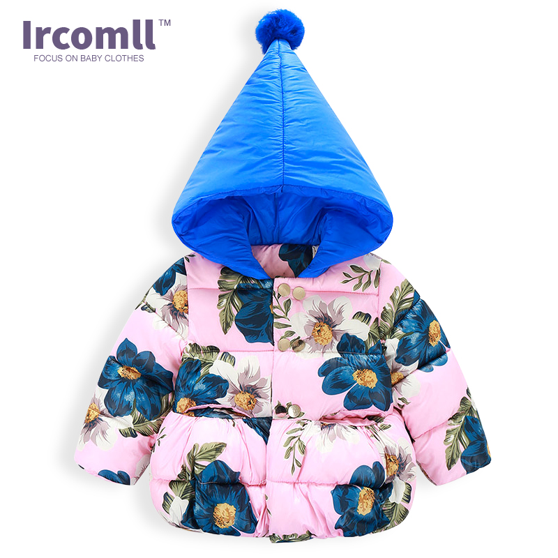 2016 Fashion Winter Thick Warm Girls Jackets & Coats Children Down Parkas Kids clothes  Baby Thermal Liner Down Outerwear