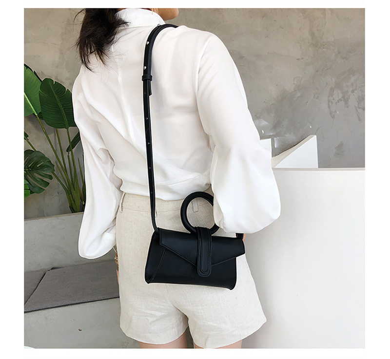 Bolsa de ombro feminina de couro bolsa