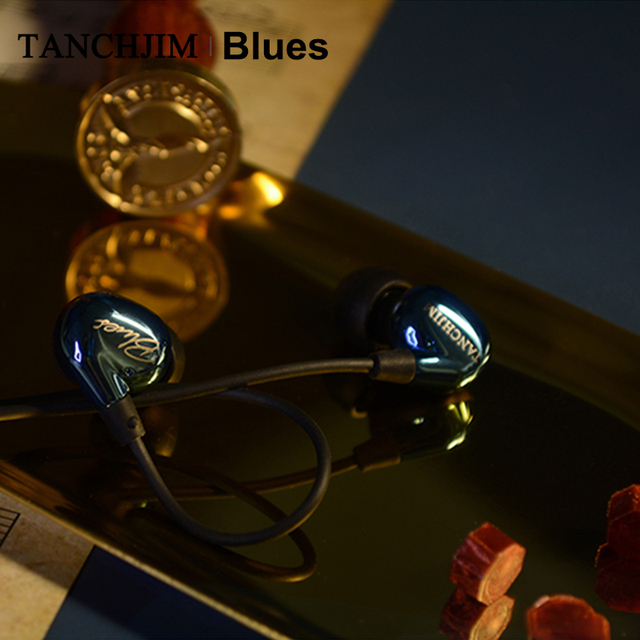 TANCHJIM Blues HiFi Audio DMT Dynamic driver In-ear earphone IEM for Blues/Pop/Rock Music For Mobile Phone Line Type earbuds 5