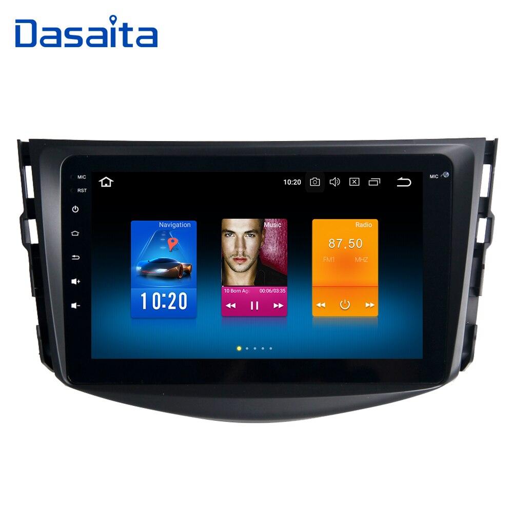 Android 8 8.0 Autoradio pour Toyota RAV4 2009 2010 2011 2012 Autoradio Multmedia 4*50 w soutien Wifi Bluetooth
