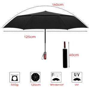 Image 5 - LIKE RAIN  140cm Große Männer Business Automatische Regenschirm Regen Frauen Starke Winddicht Doppel Schicht Folding Sonnenschutz Golf Regenschirm UBY30