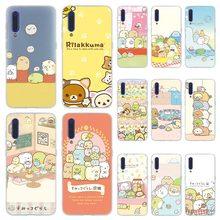 MLLSE sumikko gurashi Rilakkuma Phone Case for Xiaomi MI 9 8