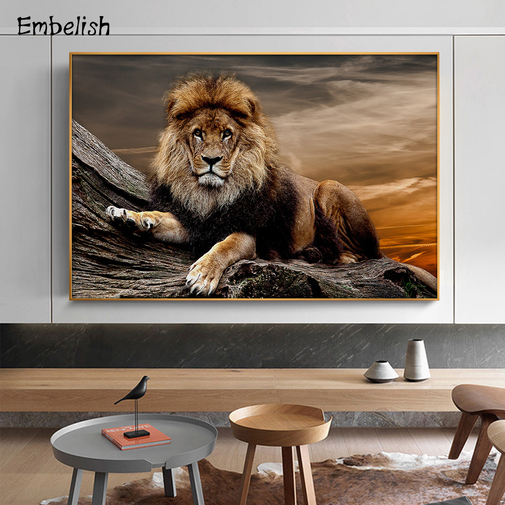 Embelish Pictures Posters On Canvas Painting Living-Room Home-Decor Hd Print Modern 1pieces