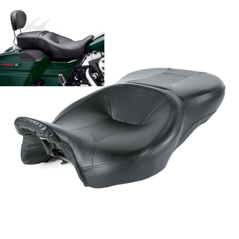 Pengendara sepeda motor dan Kursi Penumpang Untuk Harley Touring Electra Jalan Glide Road King Ultra Klasik FLHT FLHR FLHX FLTRX 14-18