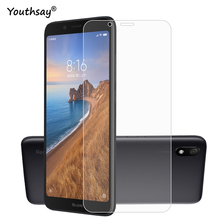 2PCS Glass For Xiaomi Redmi 7A Phone Screen Protector Tempered Film Youthsay
